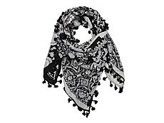 BCBGeneration Diamonds Forever Square Scarf