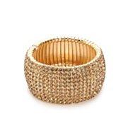 One Wink Topaz Rhinestone Stretch Bracelet