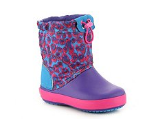 Crocs Crocband Lodgepoint Girls Toddler & Youth Snow Boot