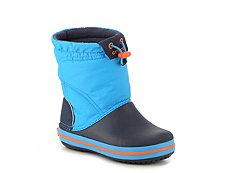 Crocs Crocband Lodge Point Boys Toddler & Youth Snow Boot