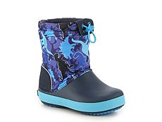 Crocs Crocband Lodgepoint Boys Toddler & Youth Snow Boot