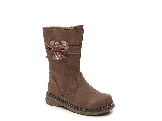 Rachel Shelby Girls Toddler Boot