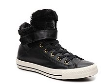Converse Chuck Taylor All Star Brea Fur High-Top Sneaker - Womens