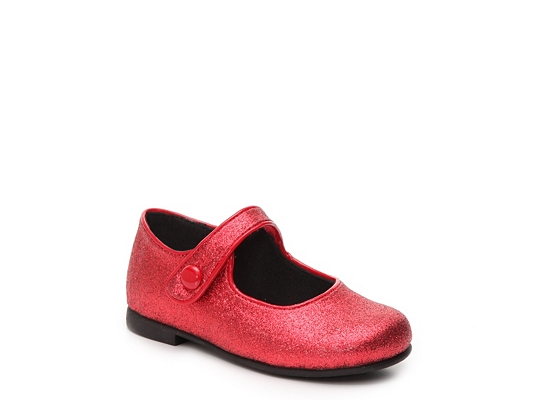 Rachel Lil Halle Girls Toddler Mary Jane Flat