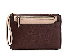 Kelly & Katie Saffiano Pull-Out Wristlet