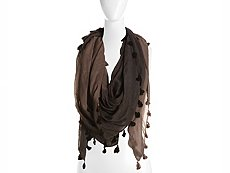Do Everything In Love Ombre Tassel Square Scarf