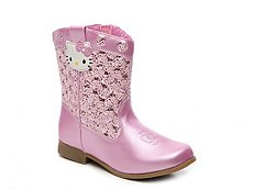 Hello Kitty Trixie Girls Toddler & Youth Cowboy Boot