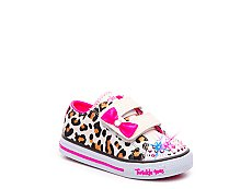 Skechers Twinkle Toes Sparkle Sass Girls Toddler Light-Up Sneaker