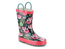 Western Chief Forest Fox Girls Toddler & Youth Rain Boot