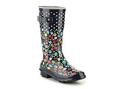 Western Chief Floral Fun Girls Toddler & Youth Rain Boot