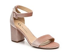 CL by Laundry Jody Velvet Sandal