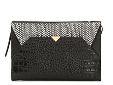 Vince Camuto Luxer Leather Clutch