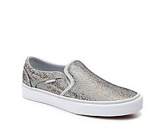 Vans Asher Sequin Slip-On Sneaker - Womens