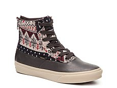 Vans Camden Hi Printed High-Top Sneaker - Womens