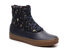 Vans Camden Hi Floral High-Top Sneaker - Womens
