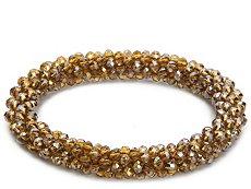One Wink Beaded Stretch Bracelet