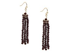 One Wink Tassel Beaded Drop Earrings