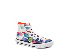 Converse Chuck Taylor All Star Watercolor Girls Toddler & Youth High-Top Sneaker