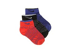 Nike Performance Cushioned Youth Ankle Socks - 3 Pack