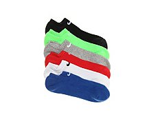 Nike Performance Cushioned Youth Ankle Socks - 6 Pack
