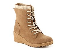 Bare Traps Explore Girls Youth Wedge Boot