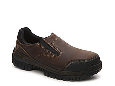 Skechers Relaxed Fit Harton Steel Toe Work Slip-On
