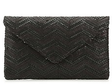 Urban Expressions Chevron Clutch