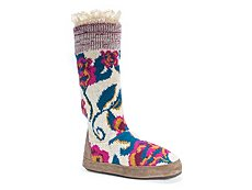 Muk Luks Vanessa Boot Slipper