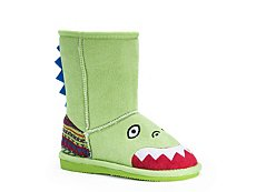 Muk Luks Rex Dinosaur Boys Toddler Boot