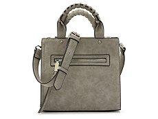 Violet Ray Mini Whipstitch Crossbody Bag