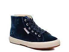Superga 2095 Velvet High-Top Sneaker