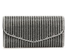 Lulu Townsend Allover Rhinestone Clutch
