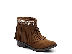 Steve Madden Maddyy Girls Youth Western Boot