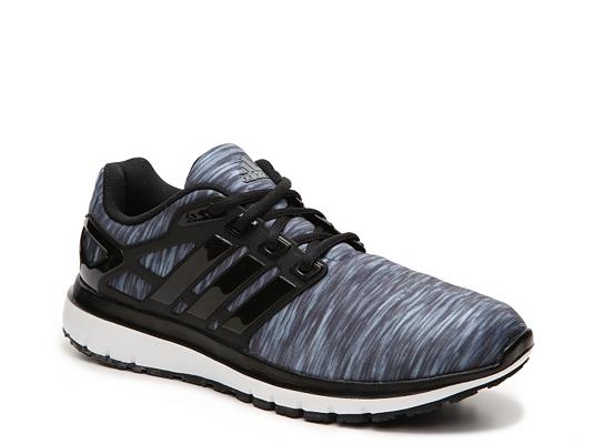 adidas Energy Cloud Print Lightweight Running Shoe - Mens