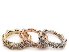 One Wink Stackable Trio Rings