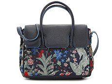 Sam Edelman Floral Sylvia Leather Satchel