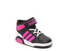 adidas NEO BB9TIS Girls Infant & Toddler High-Top Sneaker