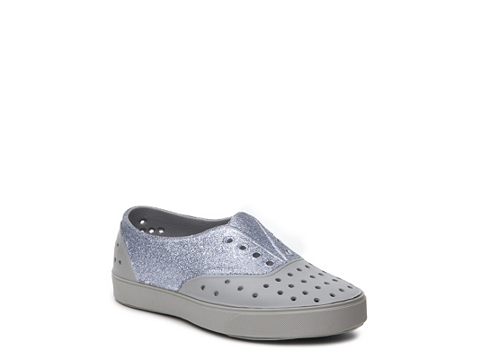 Native Miller Glitter Girls Youth Slip-On Sneaker
