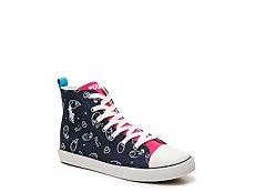 Polo Ralph Lauren Harbour Girls Youth High-Top Sneaker