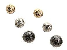 One Wink Multi Ball Metallic Trio Stud Earring Set