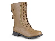 Journee Collection Kendel Combat Boot