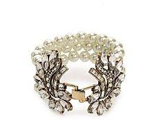 One Wink Pearl Broach Clasp Bracelet