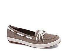 Keds Glimmer Boat Chambray Slip-On Sneaker - Womens