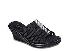 Skechers Cali Rumblers Hot Shot Wedge Sandal