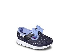 Skechers Go Walk Dot Girls Toddler Slip-On Sneaker