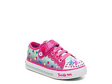 Skechers Twinkle Toes Shuffles Girls Toddler Light-Up Sneaker