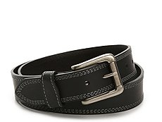 Bill Adler 1981 Triple Contrast Leather Belt