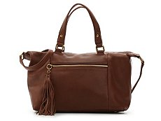 Hobo Cedar Leather Satchel