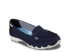 Skechers Relaxed Fit Bikers Motoring Sport Flat