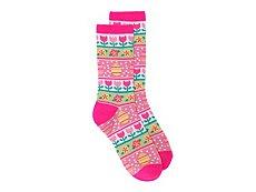 K. Bell Easter Socks Womens Crew Socks